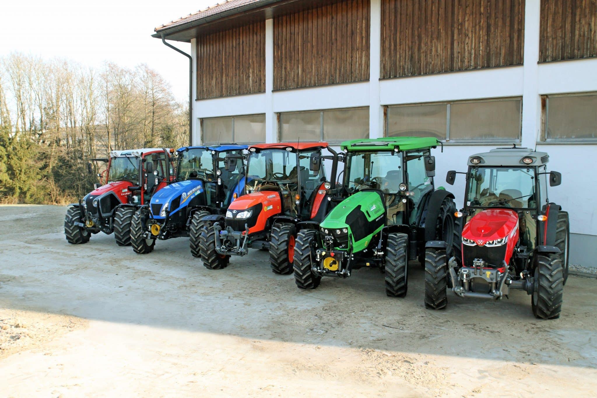 Berühmt Vergleichstest: Kleine Traktoren mit großen Unterschieden @KB_22