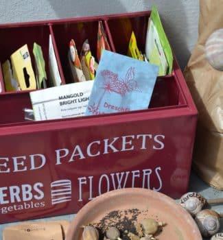 Boxen für Saatgut