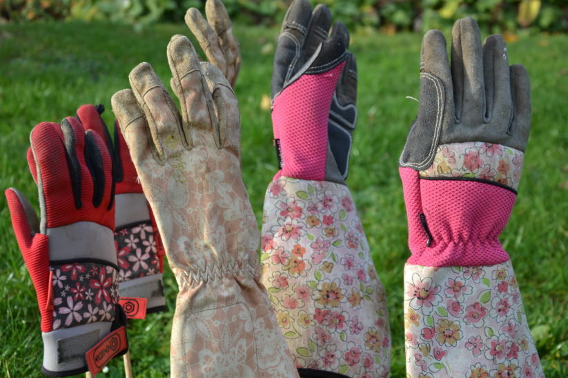 Handschuhe für Gärtnerinnen