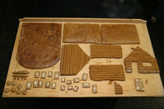 Lebkuchenhaus Teile