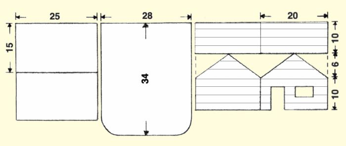 Lebkuchenhaus Bauanleitung