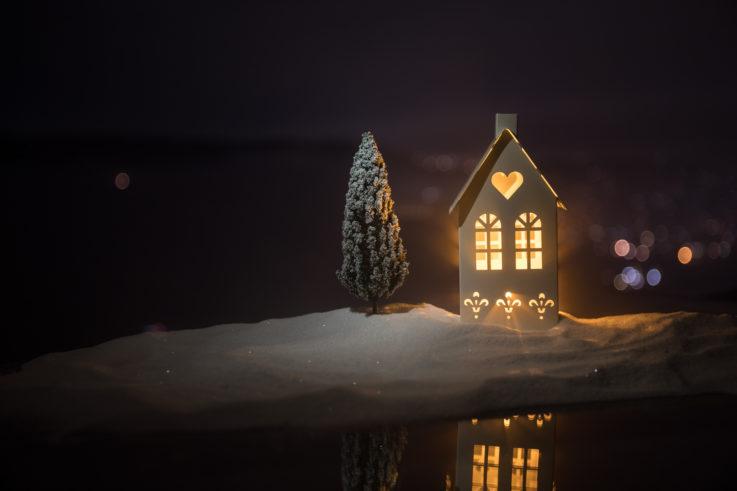 Weihnachten Idylle