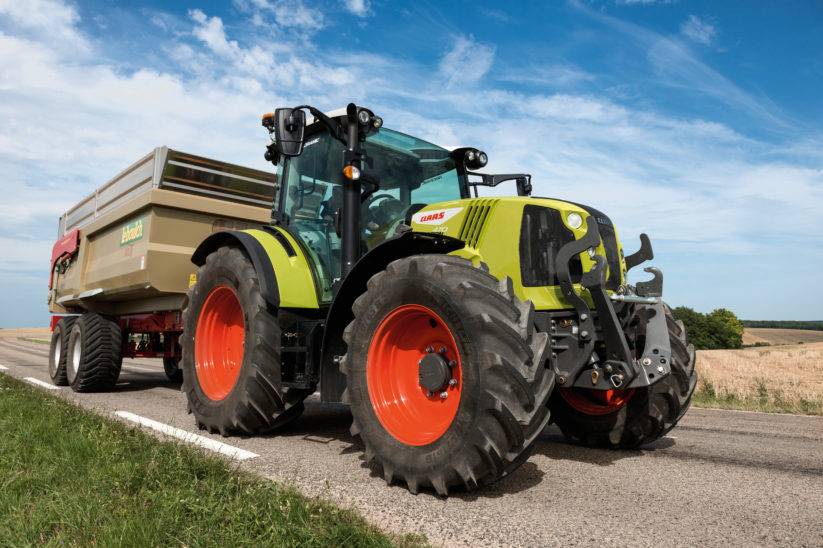 Claas Arion 470