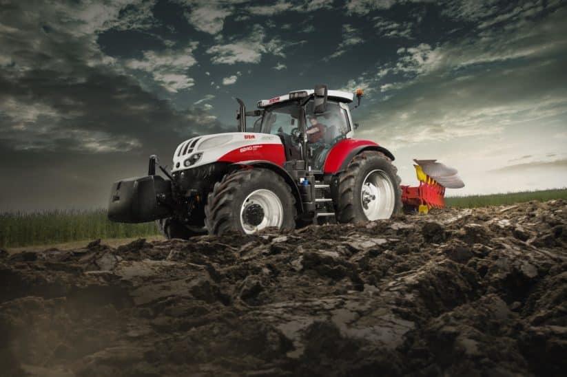 Steyr-Traktoren Steyr Traktor Steyr Absolut CVT 6185 6200 6220 6240